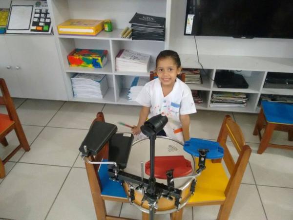Fotos Aula de música  na Educação  Infantil